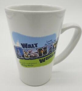 Walt Disney World Icons Tall Coffee Mug From Late 2000s