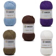Markenlose einfarbige Handarbeits-Garne & Schurwolle aus Wolle