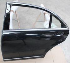 MERCEDES S KLASSE LANG W221 S500 L TÜR OBSIDIAN SCHWARZ HINTEN LINKS 197U DOOR