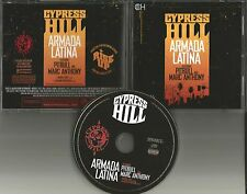 CYPRESS HILL & PITBULL & MARC ANTHONY Armada Latina w/ RARE EDIT PROMO CD Single