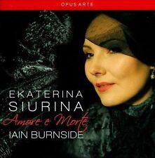 "EKATERINA SIURINA ""AMORE E MORTE"" 2013 OPUS ARTE CD NEW VERDI, BELLINI, ROSSINI"