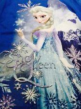 Disney Frozen 2 Snow Flake Queen Snow T-shirt Blue Elsa 4-5 Extra Small Shirt