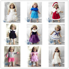 "lot nine suits of clothes dress outfit for 18""American Girl Doll 5"