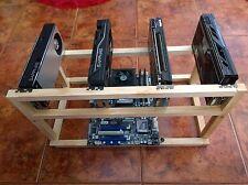 GPU-Open-Air-Frame-Mining-Rig Frame-Case-Ethereum-Zcash-Monero GPU Miner