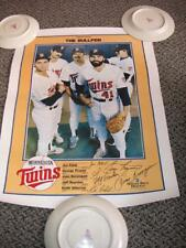 "Set of 9 - 1987 Minnesota Twins Power Posters - Sold in Good Condition 15"" x 20"""