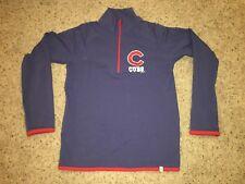 Chicago Cubs 47 Brand 1/4 Zip Pullover Sweater Sweatshirt - Women's Medium