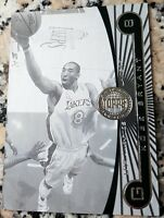 KOBE BRYANT 2005 2006 Topps First Row B & W RARE SP 20/225 Lakers MVP $ HOF $$