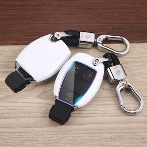 Parts For Mercedes Benz A B R C Class CLA CLS SL Key Fob Case Shell Bag Cover