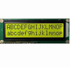 1602 2x16 Big Characters LCD Display 5V 122*44MM Arduino Yellow