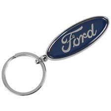 Ford Lifestyle Genuine Ford Oval Metal KeyRing / Keyfob Key Ring Chain 35020798