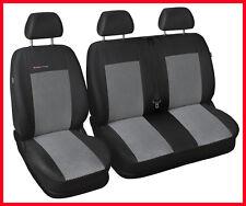 Renault Trafic Opel Vivaro Tailored fundas de asiento 1+2 2012 Gris 2