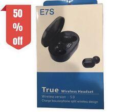 More details for true tws wireless bluetooth headphones earbuds earphones 5.0 device air mini pod