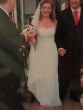 Amanda Wyatt Stunning Ivory Strapless Wedding Gown / Dress Size 12