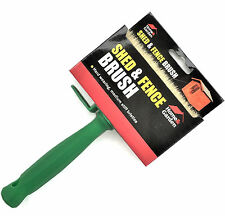 "Rapide 5"" (120 x 30mm) Wide Shed And Fence Decking Paint Brush Emulsion Paste"