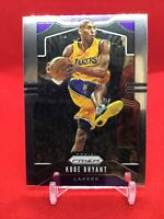 Kobe Bryant Panini Prizm Base Card 2019 #8 Los Angeles Lakers MAMBA!