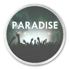"Paradise Music Festival - 3"" Sew / Iron On Patch EDM Rave Dance Love Fest Swag"