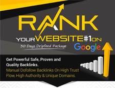 600+ SEO DEUTSCHE Backlinks Optimierung High DA Google manueller Linkaufbau