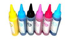 6x100ML Dye ink for Epson artisan 800 810 835 837 700 710 725 730 50 NON-OEM