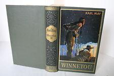 Karl May Verlag Bamberg Schnörkel - Band 9 Winnetou III - TOP Exemplar