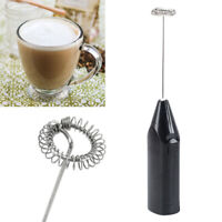 Electric Milk Frother Drink Foamer Mixer Stirrer Coffee Eggbeater DIY Kitchen