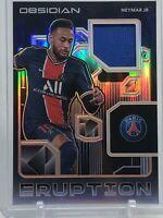 2020-21 Neymar Jr Obsidian Eruption Patch Orange #31/50 PSG