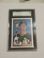 1989 Bowman Mark McGwire SGC 98 = SGC 10 Gem Mint Rare!!!