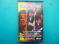 """ROLLING STONES  """"STORY OF THE STONES - GREATS BY THE ROLLING STONES""""  CASSETTE"""