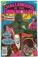 CHALLENGERS OF THE UNKNOWN #84 Dec 1977 DC Comics DEADMAN SWAMP THING App B/O