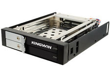 Kingwin Dual Bay 2 5inch Internal SATA Trayless Hot Swap Rack With Key Lock