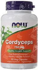 NOW Foods, Cordyceps Sinensis Fungino-x90Vcaps 750 mg