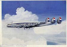 Postcard 434 - Aircraft/Aviation KLM Lockheed Super Constellation L 1049 G