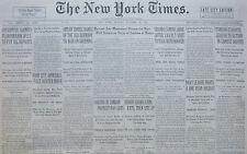 10-1931 October 12 HITLER UNITES RANKS OF THE OLD GERMANY TO WAR ON BRUENING