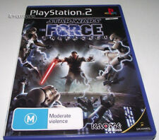 Star Wars The Force Unleashed PS2 PAL *Complete*