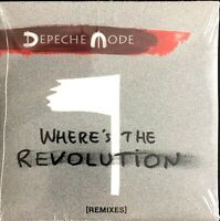 CD MAXI DEPECHE MODE WHERE' S THE REVOLUTION REMIXES RARE NEUF SOUS BLISTER 2017
