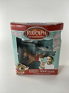 NEW Rudolph Red Nosed Reindeer Magic Flyer-Hand Controlled-USB Charger-Blue Sky
