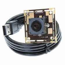 Mini 38X38mm 5MP CMOS OV5640 Microscope 60 Degree Auto Focus Camera USB Webcam