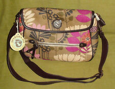 Spartina Handbag in Linen and Leather
