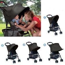 Anti-UV Sunshade Canopy Cover For Baby Stroller Black Shade Sun Hood Sunscreen
