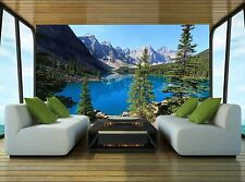 The Lake Wall Mural Photo Wallpaper GIANT WALL DECOR Paper Poster Free Paste