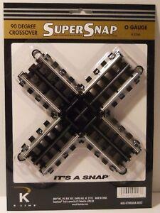 K-Line SuperSnap 90 Degree Crossover (O Gauge)