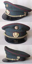 OLD VINTAGE AUSTRIAN OFFICER PEAKED CAP HAT GENDARMERY / SIZE 54