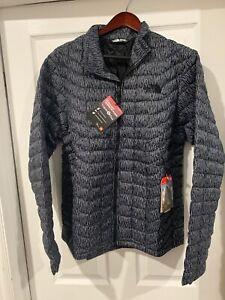The North Face THERMOBALL FZ Men JKT ASPHLTGYRGNCMPT Large *NEW*