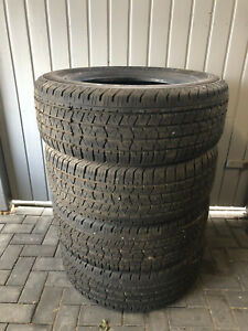 4 Sommerreifen Continental Cross Contact LX 265/60r18 110T