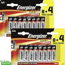 24x Energizer AA MAX Alkaline Powerseal Batteries LR6 MN1500 MIGNON *FILM OFFER*