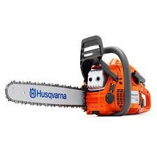 "Husqvarna 450E E-Series 18"" Smart Start 50.2cc 3.2HP Gas Powered X-Torq Chainsaw"
