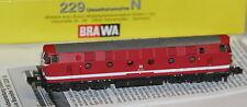 BRAWA Epoche IV (1965-1990) Normalspur Modellbahnloks der Spur N