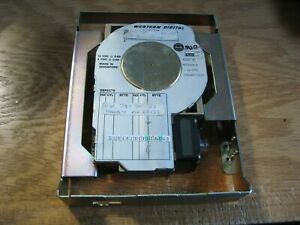 "Western Digital WD95044-A 43MB IDE Hard Disk 3.5"" Vintage Used Parts Untested"