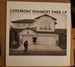 Ceremony - Rohnert Park LP - Limited Edition Blue Vinyl - Punk, Hardcore