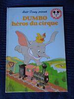 Club de La Libro Mickey Walt Disney Dumbo Heros Circo