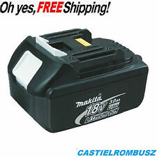 Makita Battery BL1830 18V 3Ah LXT Li-Ion shock absorbing features protect batery